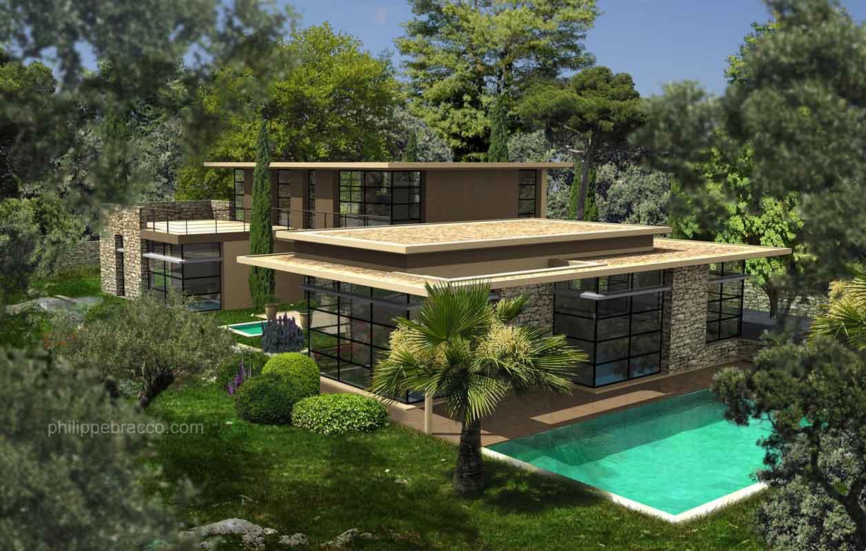 cabinet d 39 architecte cannes cannes villa fr. Black Bedroom Furniture Sets. Home Design Ideas