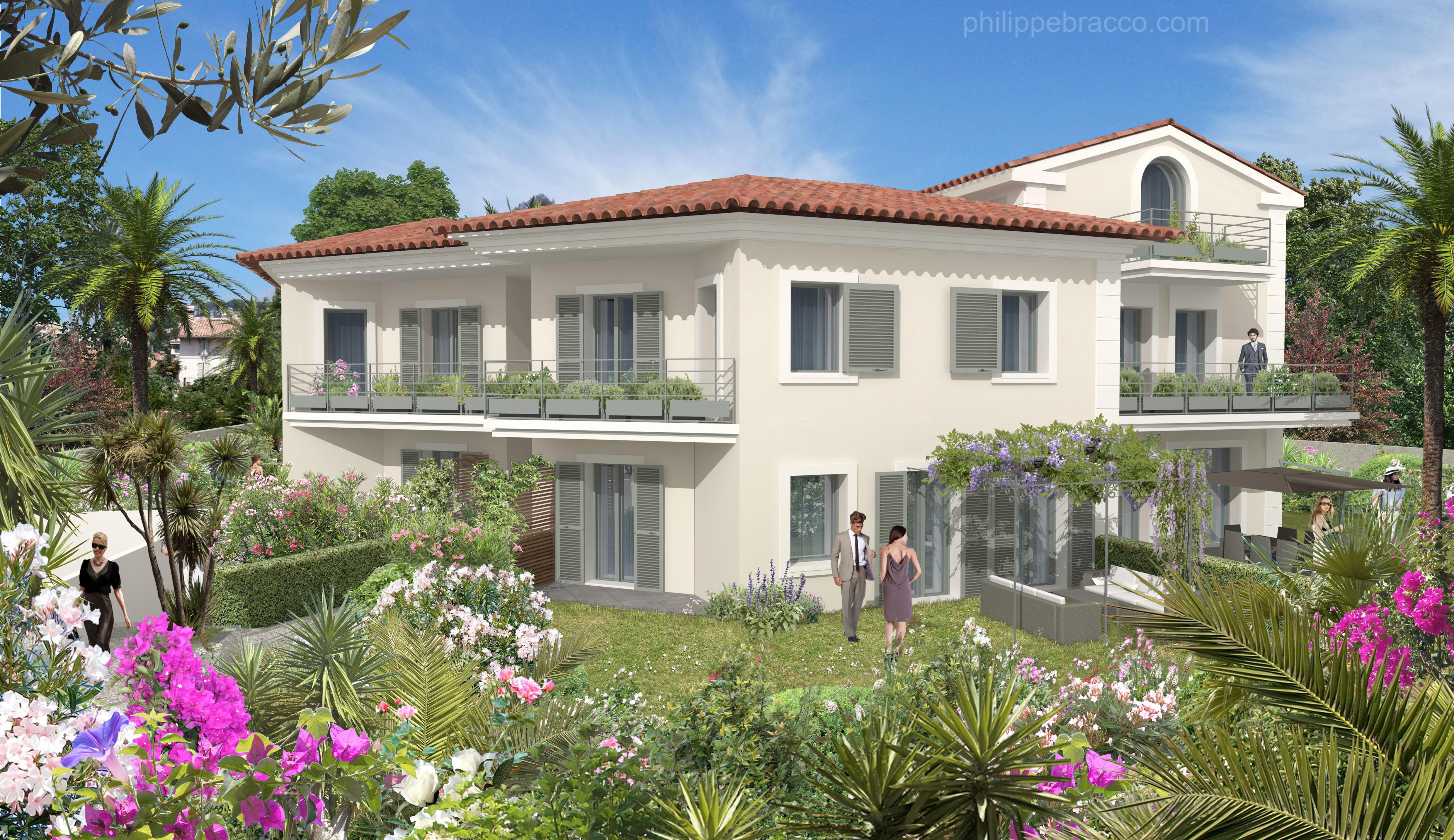 cabinet d 39 architecte cannes cannes la bocca villa. Black Bedroom Furniture Sets. Home Design Ideas